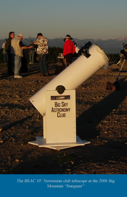 BSAC Club Telescope